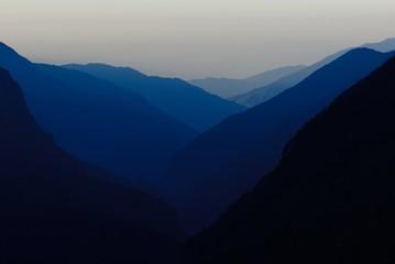 Himalaya dusk