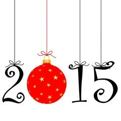 2015 avec boule décorée #4