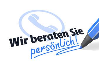 Telefon-Hotline: Wir beraten Sie persönlich!