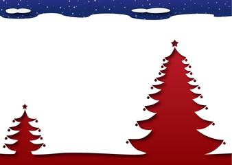 White Christmas - Trees under the Stars
