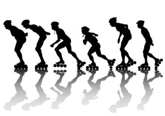 Skates of men