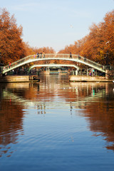 Canal Saint Martin, Paris.