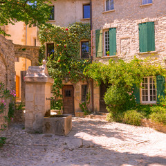 Old town in provence