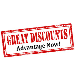 Great Discounts-stamp