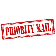 Priority Mail-stamp