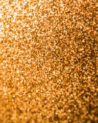 Abstract twinkled bright background with bokeh defocused
