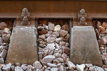 close up railroad