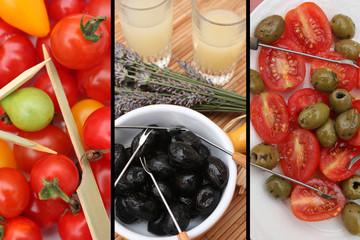 Apéritif Provençal : Pastis  Olives tomate Olivettes