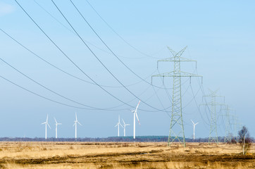 Energiegewinnung und -transport