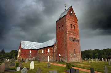 St.Laurentii Kirche in Süderende auf der Insel Föhr