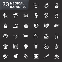 33 medical icons - 02