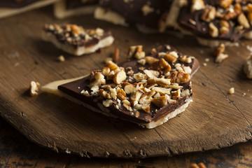 Homemade Chocolate English Toffee