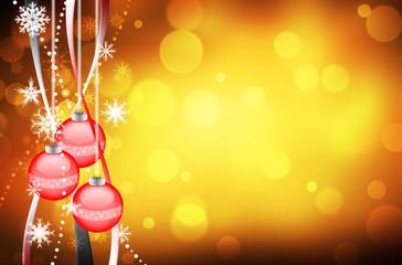 Beautiful colorful xmas background