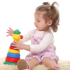 child is playing