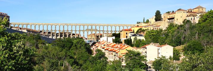 The Aqueduct of Segovia.