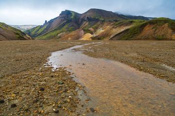 Montagne d'islande