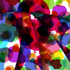 Abstract  colorful illustration