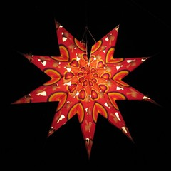 Star lampion christmas decoration