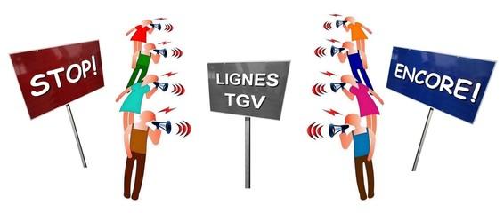"""Débat  """"Lignes TGV : stop ou encore"""""""