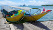 longtail boats, Andaman Sea,