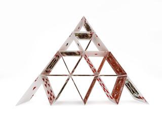 Playing cards bridge