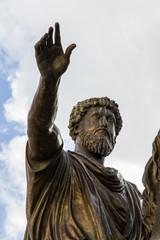 Statua equestre di Marco Aurelio - Roma