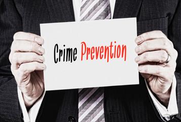 Crime Prevention Concept