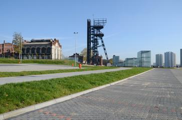 Katowice, stara kopalnia