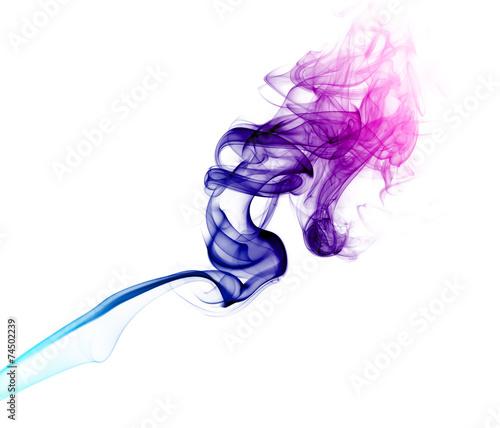 Foto op Plexiglas Rook Pink and purple smoke