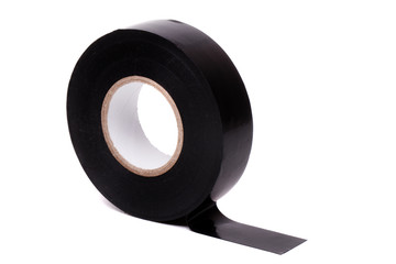 roll of black insulating adhesive tape