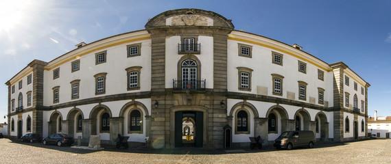 military facility located in Evora, Portugal.