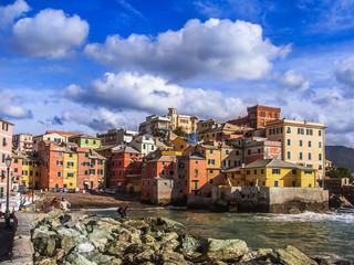 Boccadasse, neighborhood of Genoa