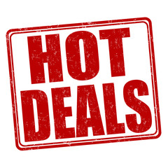 Hot deals stamp