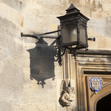 The details of New Building of Oxford Magdalen College, poster