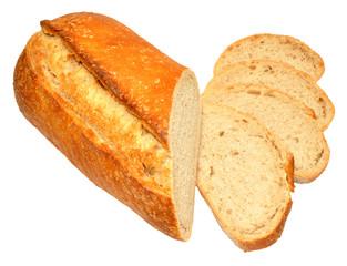 Sourdough Bloomer Bread Loaf