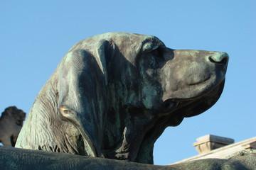 Statue de chien,Domaine de Chantilly,Oise
