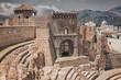 Roman ruins theatre in Cartagena, Spain - 74505836