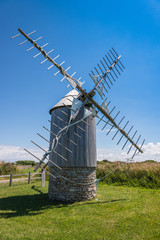 Bretagne_Umgebung Goulien - Windmühle
