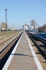 Train station in Kerch