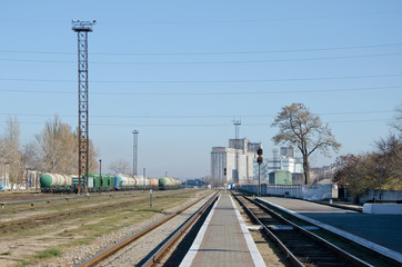 Train station in Kerch