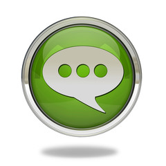 forum pointer icon on white background