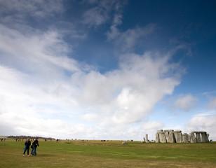 Stonehenge Neolithic monument, Wiltshire, UK