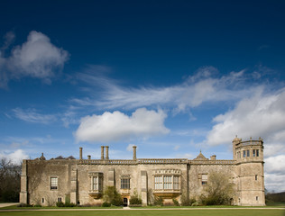 a manor home, Lacock Abbey, UK