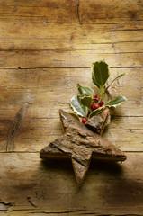 新年おめでとうございます  メリークリスマス Ilex aquifolium