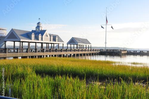 Aluminium Stad aan het water Coast, Charleston
