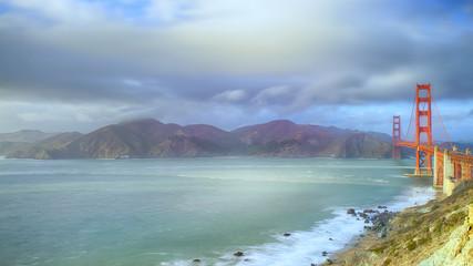Golden Gate Bridge Pacific Ocean San Francisco