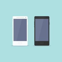 Smartphone Flat Design