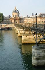 Mid Morning at Pont Des Arts Bridge & Institut de France Buildin