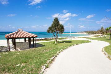 沖縄のビーチ・宇座海岸
