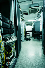 telecommunication devices in the data center